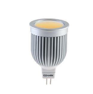 LED lámpa Gu5.3 COB 7W ELM meleg fehér