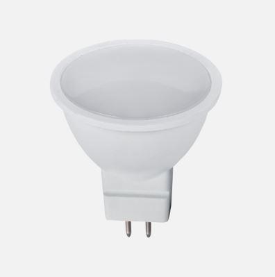 LED lámpa Gu5.3 MR16 6W meleg fehér