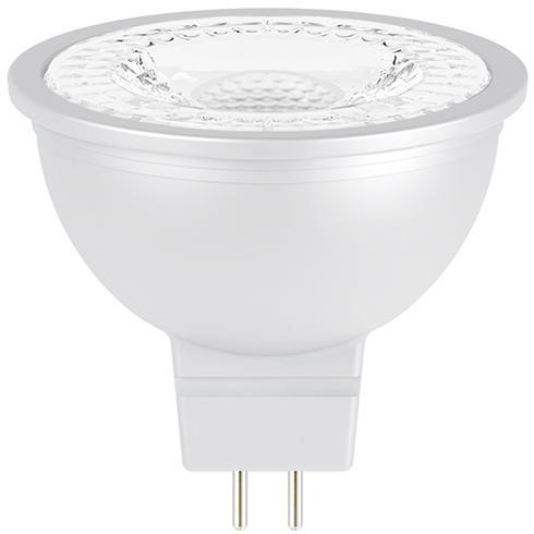LED lámpa Gu5.3 MR16 COB 7W meleg fehér