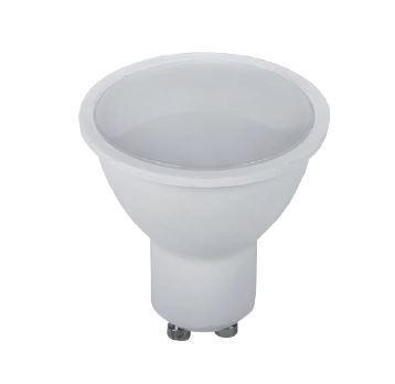 Led lámpa-izzó spot 3W GU10 2700K meleg fehér 240 lumen 120°