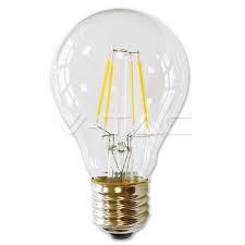 Led lámpa körte 4W COG E-27 (ledszálas normál izzó)