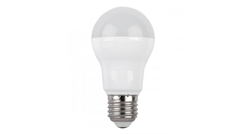 Led lámpa körte E-27 8W A55 meleg fehér