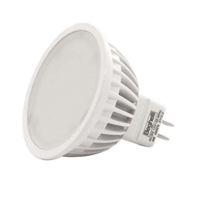 LED lámpa MR-16 Gu-5.3 6W 95° meleg fehér