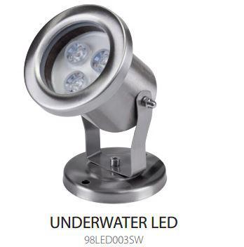 LED medence lámpa 12V 3W IP68 4000K