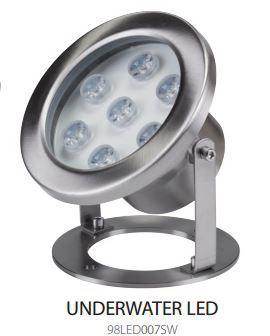 LED medence lámpa 12V 7W IP68 4000K