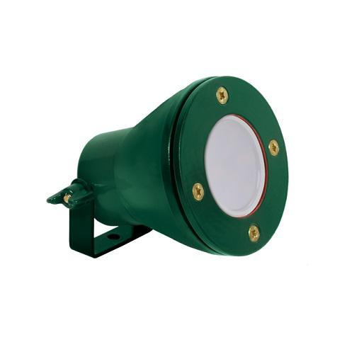 LED medence lámpa 12V Gu5.3 IP68 zöld