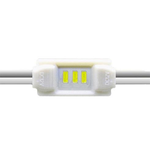 LED modul 0.36 Watt 3x3014 SMD LED hideg fehér