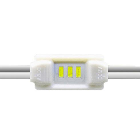 LED modul 0.36 Watt 3x3014 SMD LED kék
