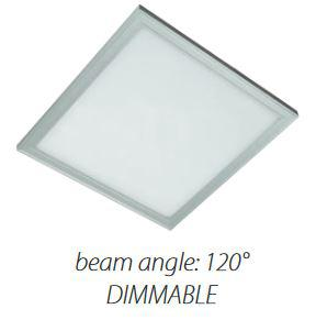 LED panel 600x600 48W dimmelhető