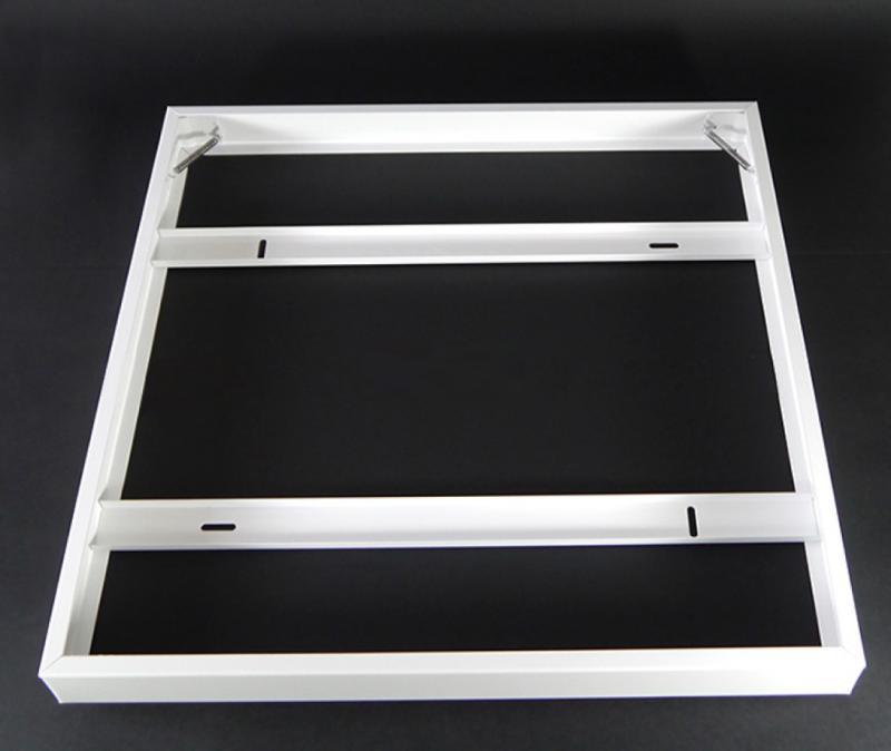 LED panel falon kívüli beépítőkeret fehér 600x600