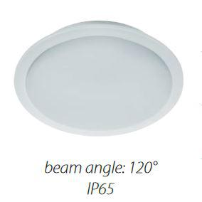 Led panel kör 5W fehér IP65