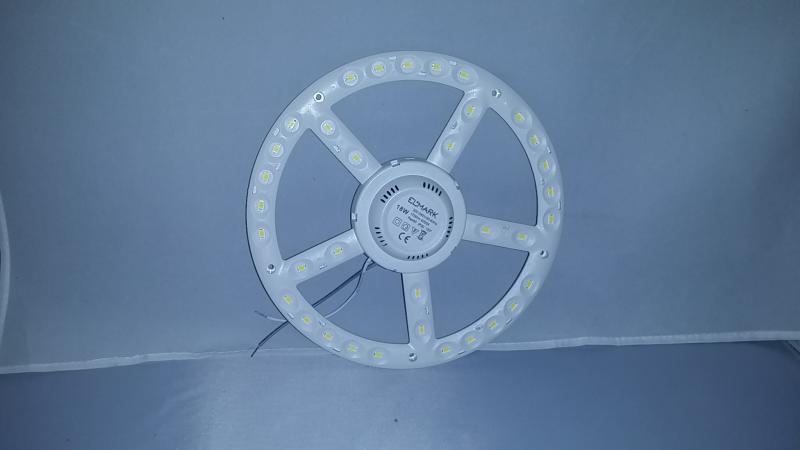 LED panel UFO lámpába 220mm 18W COB meleg fehér