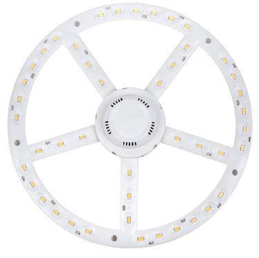 LED panel UFO lámpába 270mm 22W COB meleg fehér