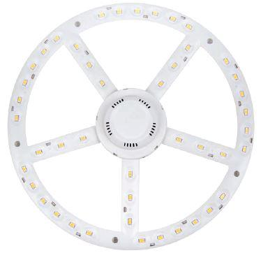 LED panel UFO lámpába 270mm 22W COB természetes fehér