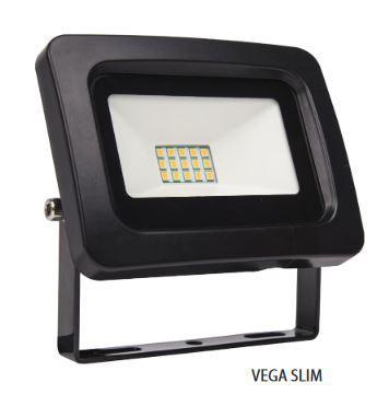 Led reflektor 10 W VEGA hideg fehér slim