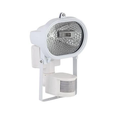 Led reflektor 7,5 W természetes fehér (fehér ház) mozgásérzékelővel