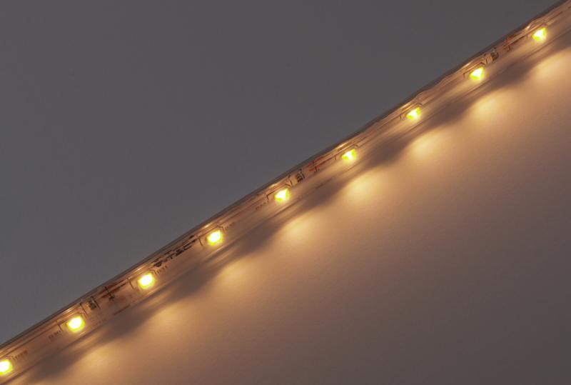Led szalag SMD3528 4,8W/m 60 led/m kültéri dekor meleg fehér 5 méter