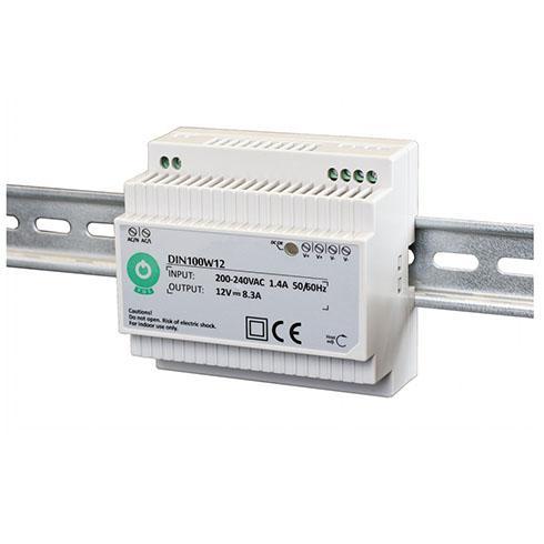 Led tápegység sínre szerelhető 12V 99,6W 8,3A