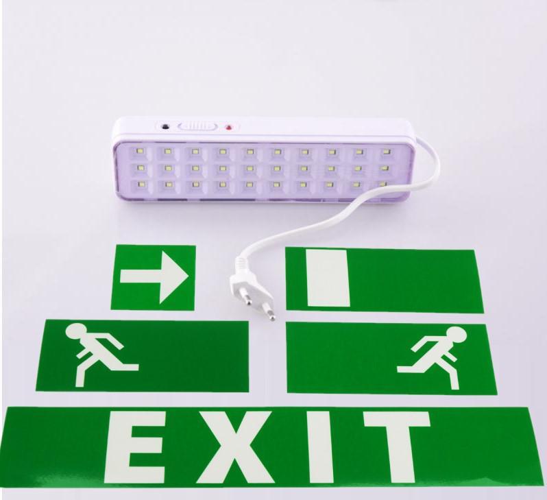 Led vészvilágító kijárati lámpatest 2W
