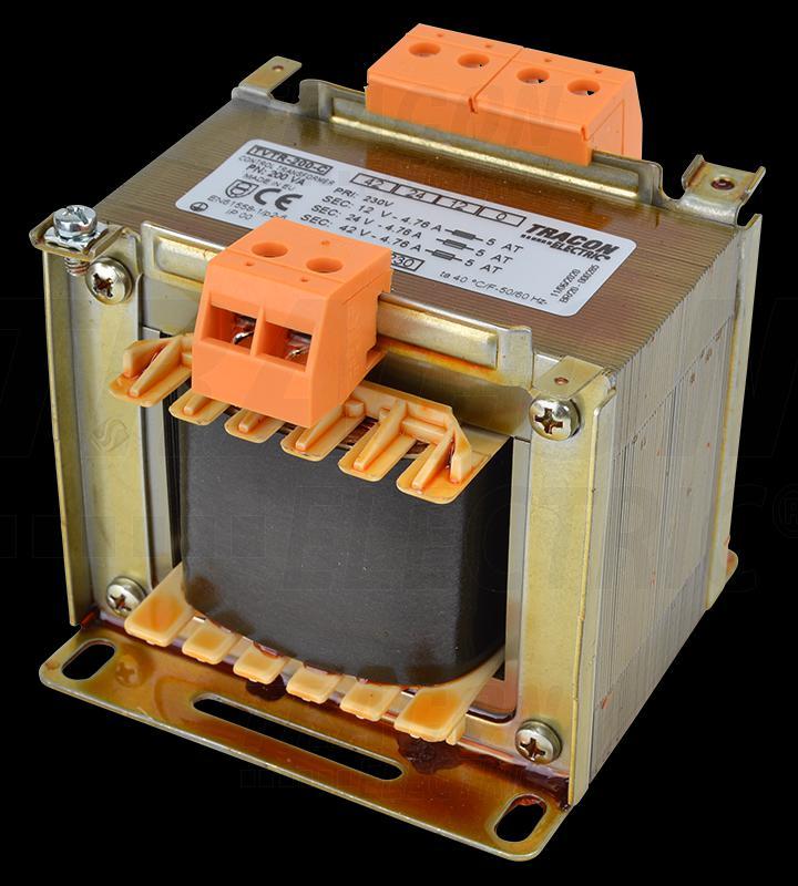 Leválasztó transzformátor 230V / 12-24-42V, max.150VA
