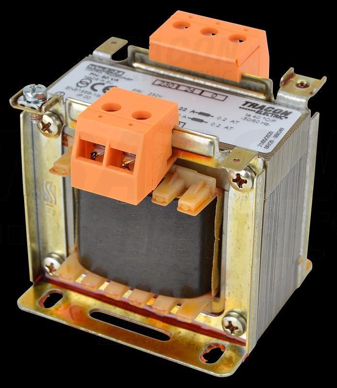 Leválasztó transzformátor 230V / 24-230V, max.50VA