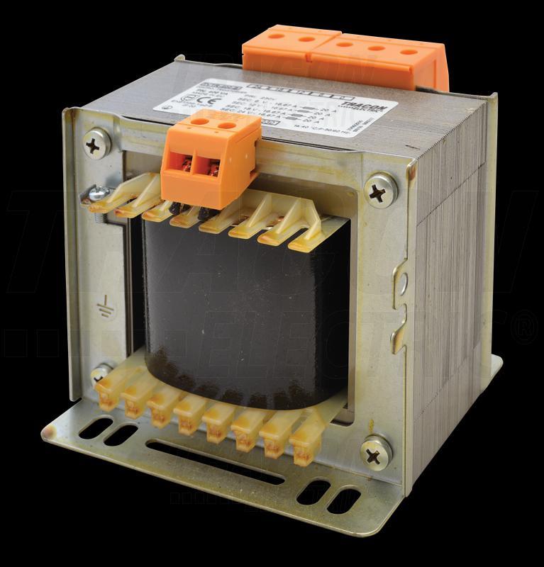 Leválasztó transzformátor 230V / 24-42-110V, max.400VA