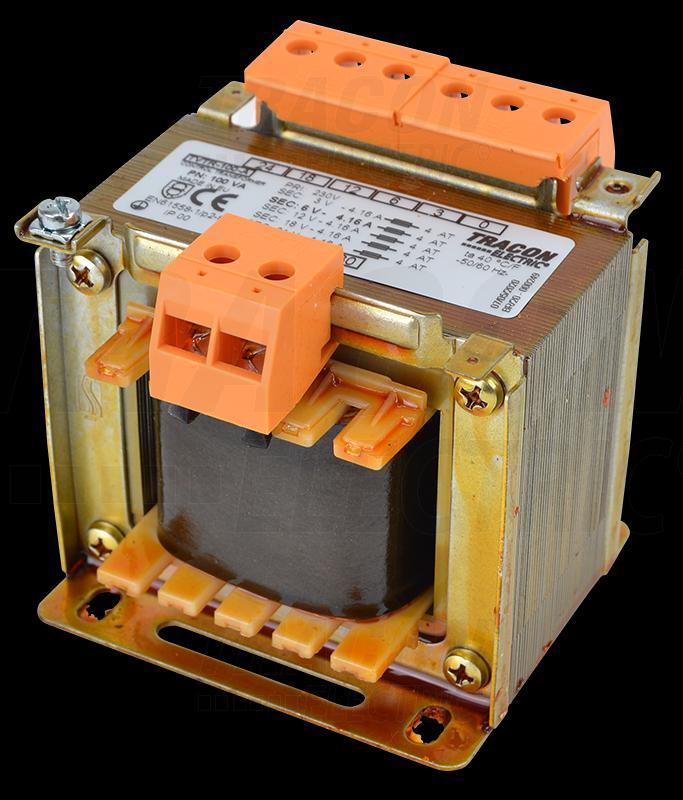 Leválasztó transzformátor 230V / 3-6-12-24V, max.100VA