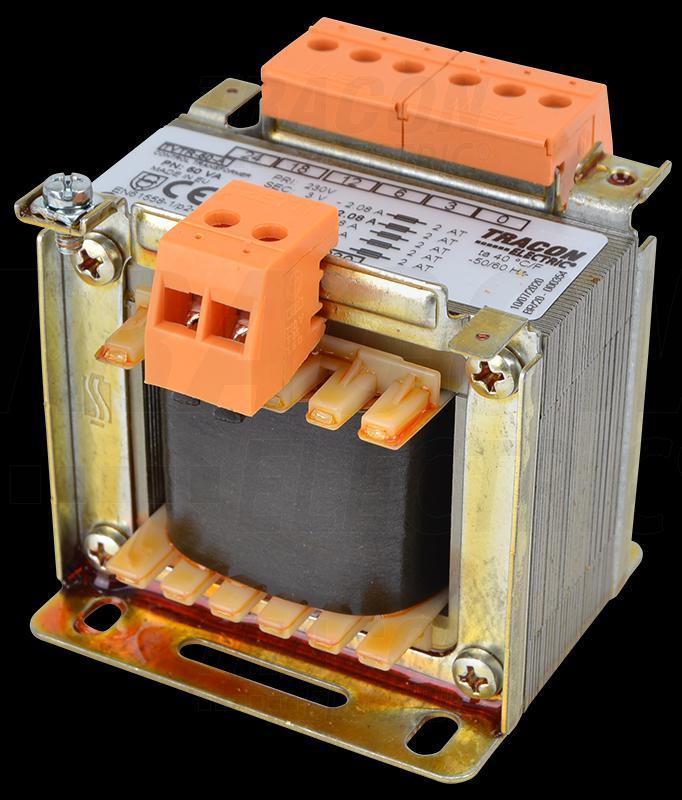 Leválasztó transzformátor 230V / 3-6-12-24V, max.50VA