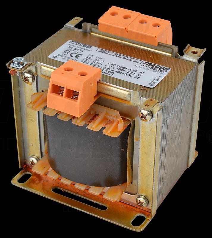 Leválasztó transzformátor 230V / 42-110-230V max.250VA