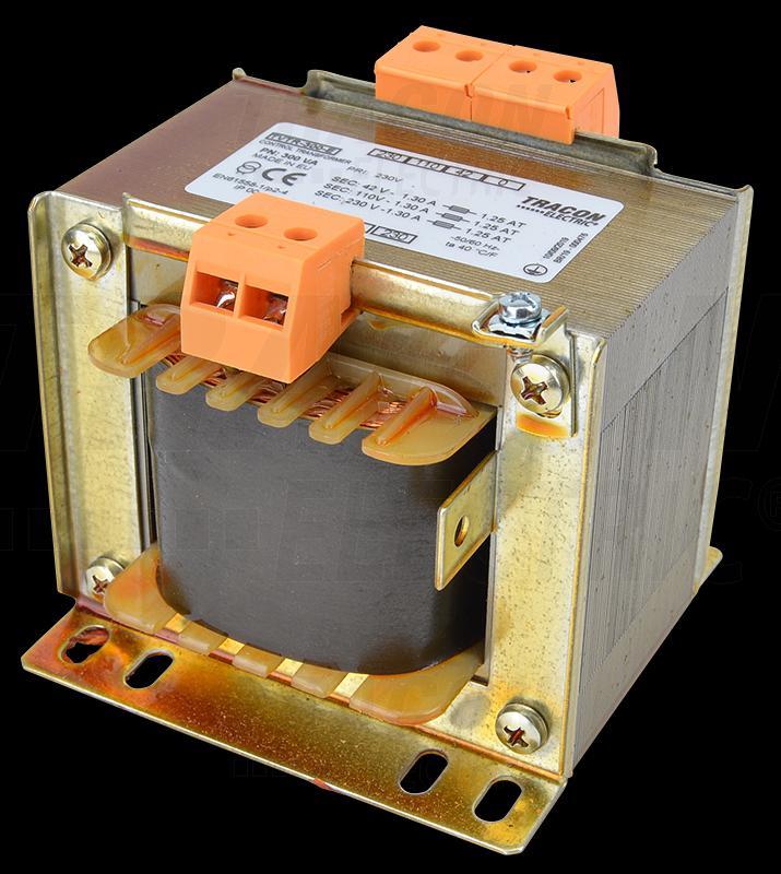Leválasztó transzformátor 230V / 42-110-230V, max.300 VA