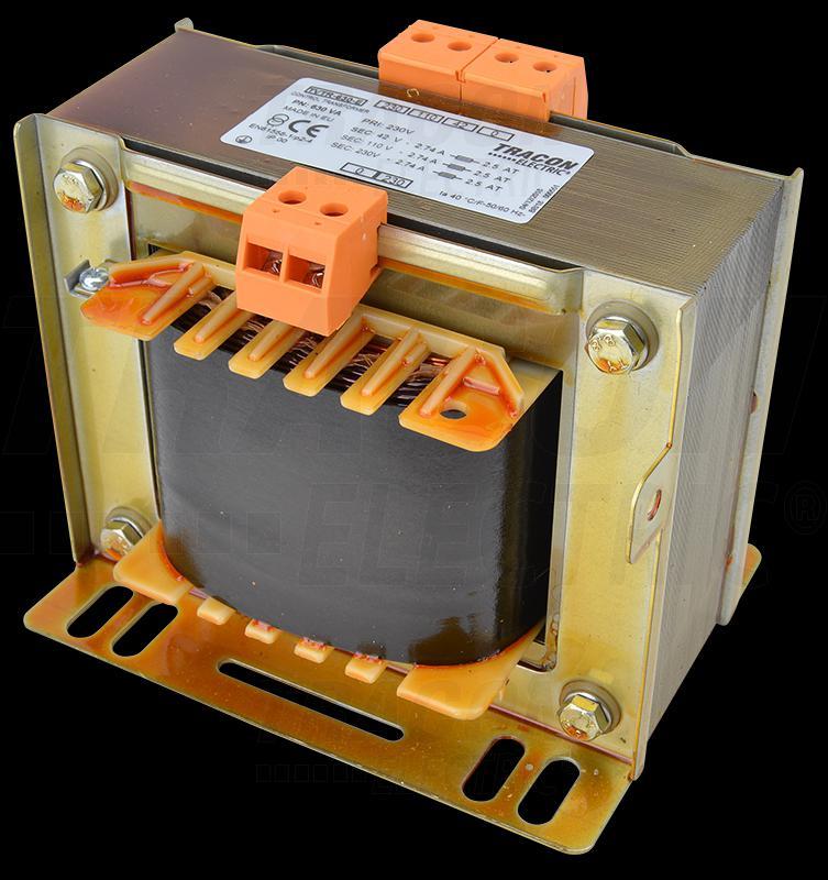 Leválasztó transzformátor 230V / 42-110-230V, max.630VA