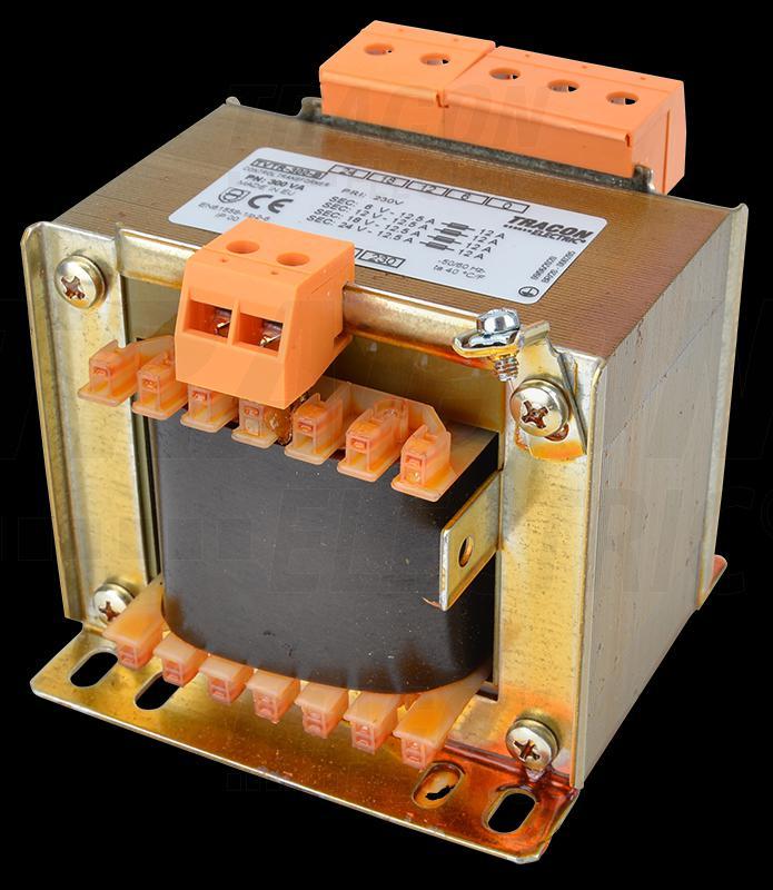 Leválasztó transzformátor 230V / 6-12-18-24V, max.400VA