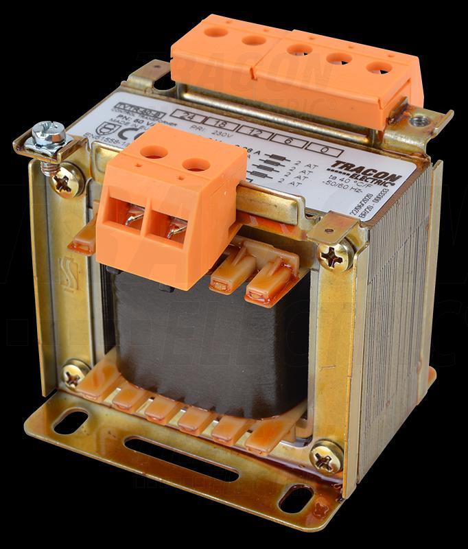 Leválasztó transzformátor 230V / 6-12-18-24V, max.50VA
