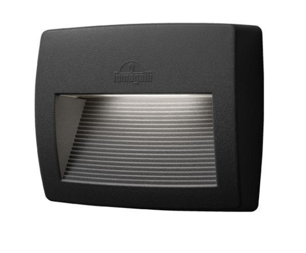 LORENZA 190 LED fali lámpa 8,5W fekete