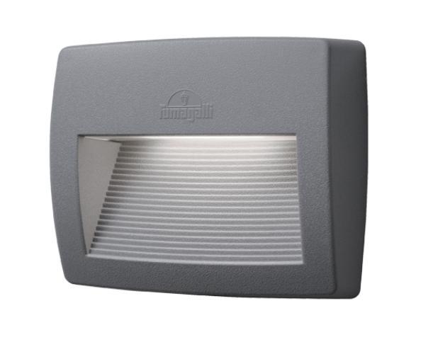 LORENZA 190 LED fali lámpa 8,5W szürke
