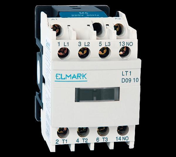 Mágneskapcsoló KONTAKTOR LT1-D1210 12A záró 12V