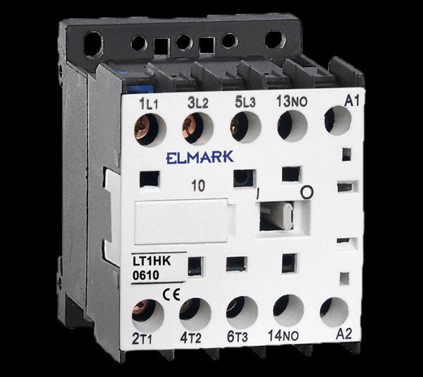 Mágneskapcsoló KONTAKTOR LT1-K0610 1Z 6A 12VAC
