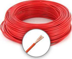 Mkh 2,5mm2 sodrott vezeték Piros
