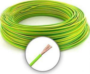 Mkh 4mm2 sodrott vezeték Zöld/Sárga