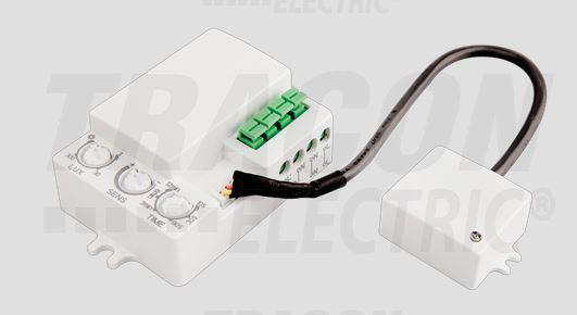 Mozgásérzékelő, radaros, lámpatestekbe, külső érzékelővel