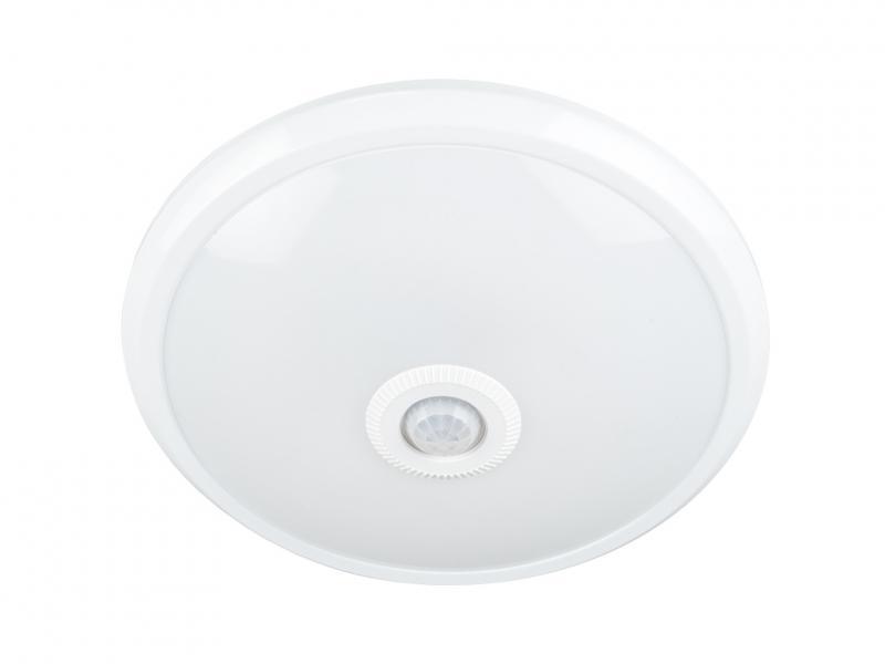 Mozgásérzékelős kör mennyezeti lámpa 12W LED természetes fehér
