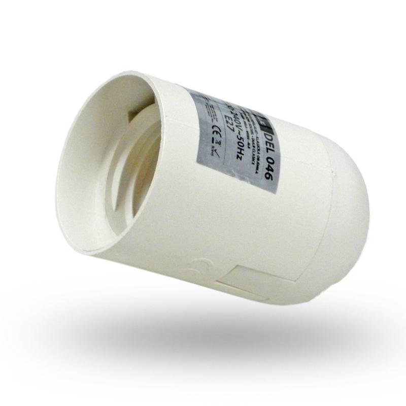 Műanyag foglalat E27 fehér