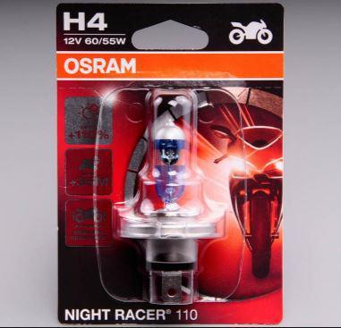 Osram Night Racer H4 +110% motorkerékpár izzó 3200K