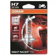 Osram Night Racer H7 +50% motorkerékpár izzó 3200K