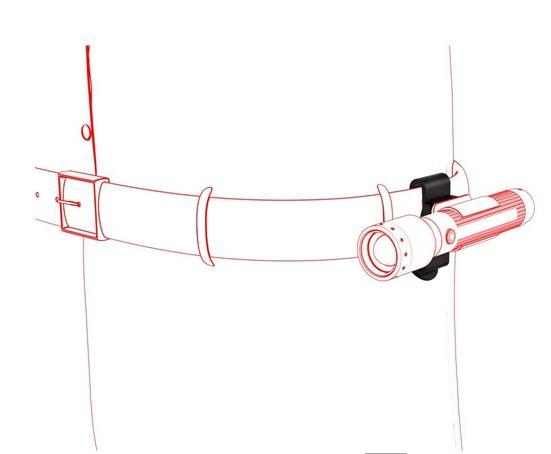 Övcsipesz Led Lenser A típus