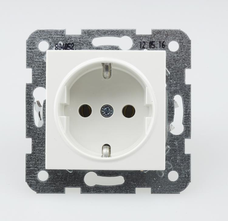 Panasonic Karre Plus dugalj fehér keret nélkül csavaros