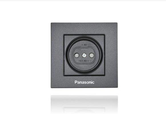 Panasonic Karre Plus dugalj fekete(keret nélkül)