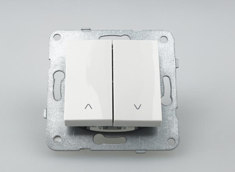 Panasonic Karre Plus redőny nyomókapcsoló fehér keret nélkül