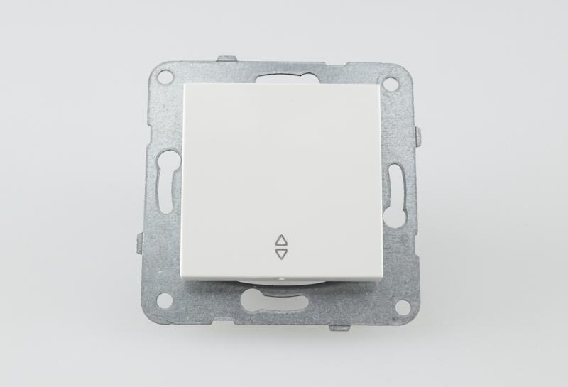 Panasonic Karre Plus váltó kapcsoló 106 fehér keret nélkül