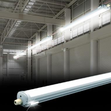 Por és páramentes mennyezeti LED lámpatest 36W IP65 4000K